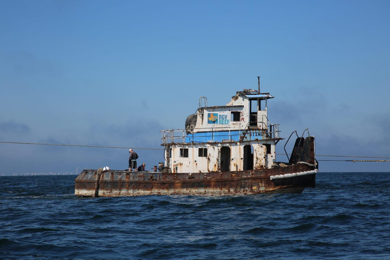 RGV Reef boat